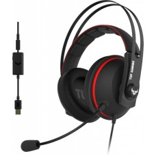 Гарнитура asus tuf gaming h7 red