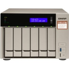 Smb qnap tvs-673e-8g nas, 6-tray w/o hdd, 2xm.2 ssd slot, 2xhdmi-port. quad-сore amd quad-core 2.1 ghz up to 3.4 ghz , 8gb ddr4 (2 x 4gb) up to 64gb (4 x 16gb), 4x gigabit lan